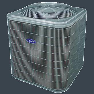 Carrier Comfort 15 heat pump.