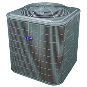 Carrier Comfort 14 coastal heat pump.