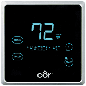 Côr® 7 Thermostat.